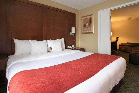 Comfort Suites Oakbrook Terrace: King suite