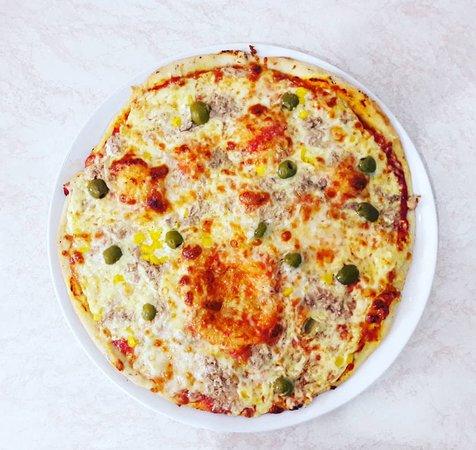 Vranov nad Toplou, Slovakia: Tuniaková pizza