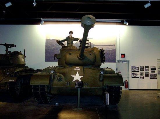 Fort Knox, Κεντάκι: Tank Inside Museum