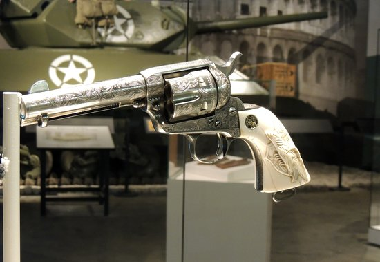 Fort Knox, KY: General Patton's Revolver
