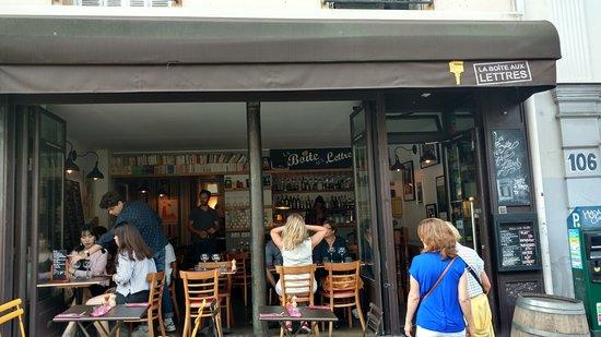 Front Entrance Of The Restaurant Picture Of La Boite Aux Lettres