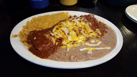 Mustang, โอคลาโฮมา: Los Vaqueros Mexican Restaurant