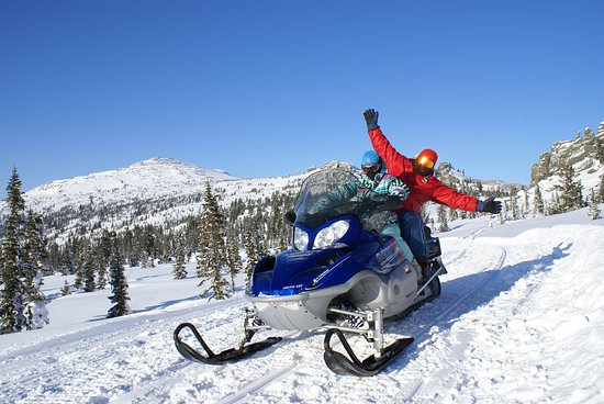 Sheregesh, Rússia: Снегоходные программы