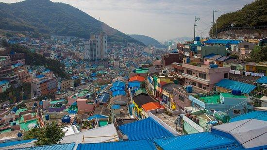 Gamcheon Culture Village: 很有趣的小房子 大部分是上下坡 要走小心膝蓋XD