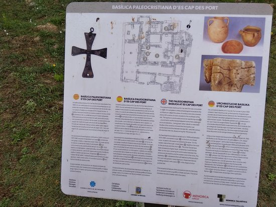 Fornells, Spania: Basilica paleocristiana des cap d'es port