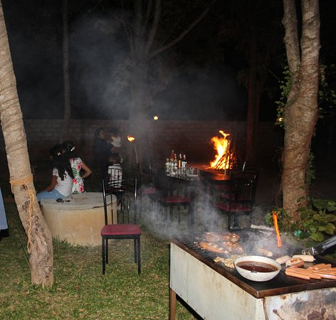 Organic Garden Sigiriya: BBQ Dinner