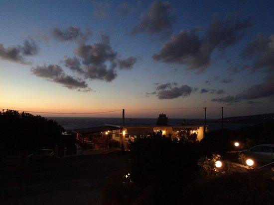 Glykeria Hotel: ristorante visto dalla camera