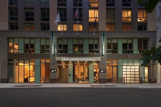 曼哈頓中城時代廣場南部希爾頓惠庭套房飯店