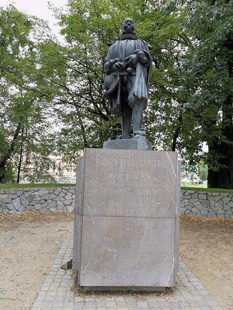 Monument of Jakub Krcin: p.Krčín