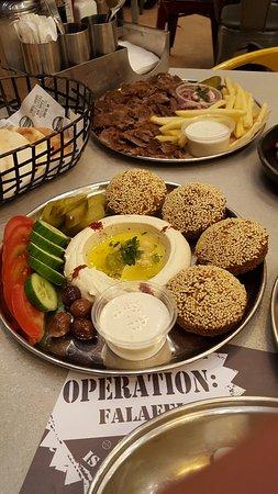 Stuffed Falafel
