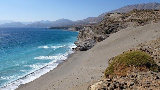 Agios Pavlos, اليونان: пляж агиофараго