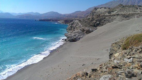 Agios Pavlos, اليونان: дюнный пляж агиофараго