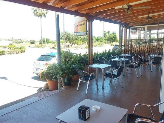 Turre, Spain: terraza muy comoda