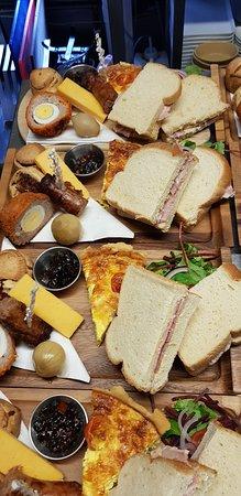 Cleator, UK: Farmhouse afternoon tea