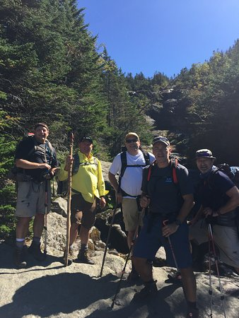 Barrington, NH: Ammonoosuc Ravine Trail Ascent