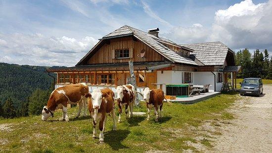 Innerkrems, Austria: Unsere schöne Hütte auf 1920 Metern!
