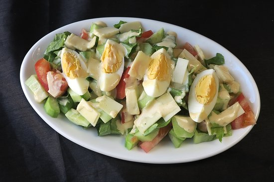 Chef S Salad Picture Of Alpha Chinese Restaurant Rhodes