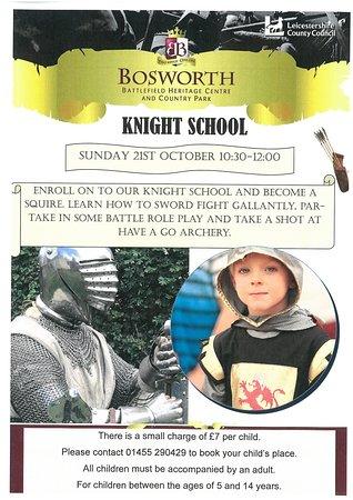Sutton Cheney, UK: Knight School