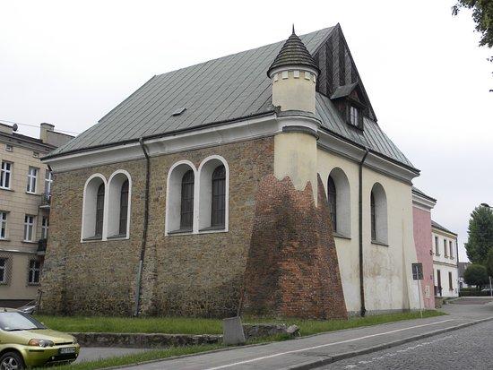 Rzeszow, Polonia: synagoga od ul. Bożniczej