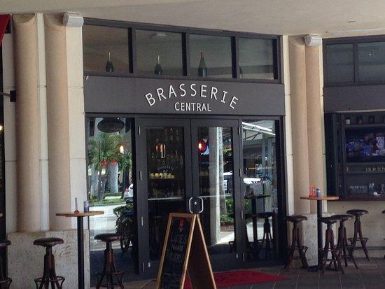 Brasserie Central: Fachada do restaurante