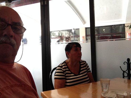 Brasserie Central: Eu e minha esposa