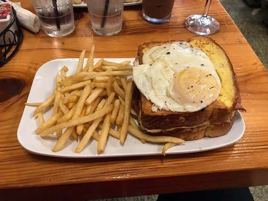 croque madame great sammich picture of the ruby slipper cafe