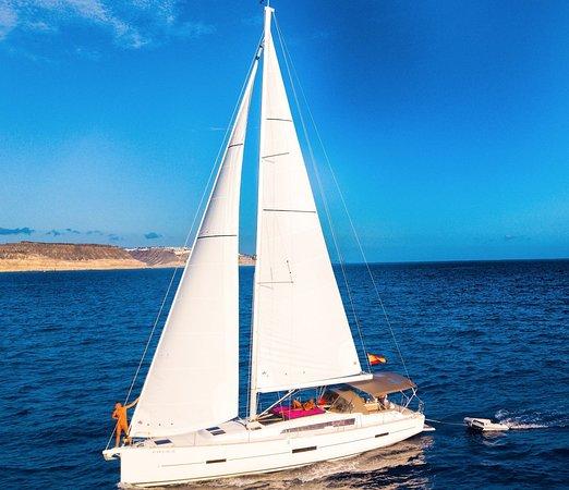 Puerto de Mogan, Spanyol: new Dufour 460 Grand Large 2018