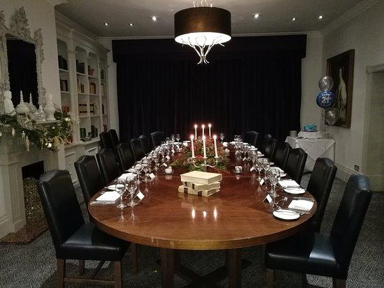 Sunninghill, UK: Private Room in restaurant area