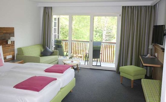 Buchenberg, Niemcy: Nice rooms, also with a small balcony.
