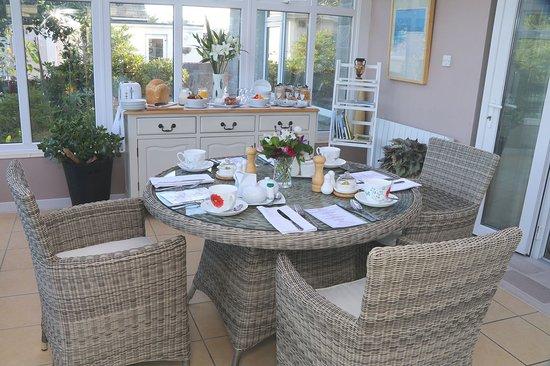 Mount Hawke, UK: Breakfast room