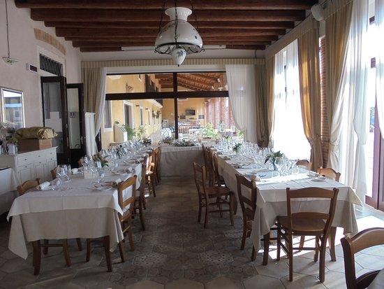 Montebello Vicentino, Olaszország: sala da pranzo