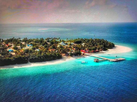 Most beautiful island fodhdhoo maldives