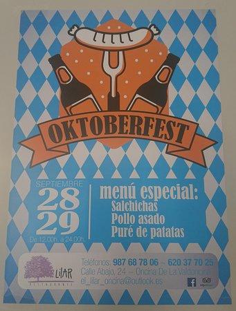 Valverde de la Virgen, Spain: Oktoberfest 2018