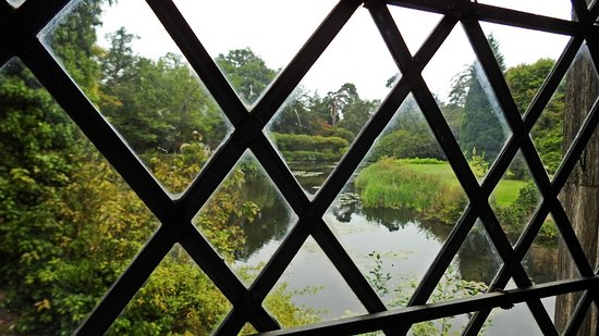 Lamberhurst, UK: View from the castle window