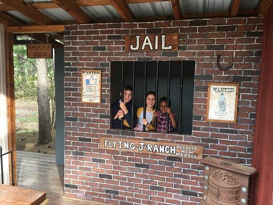 Alto, NM: bad kids go to jail!