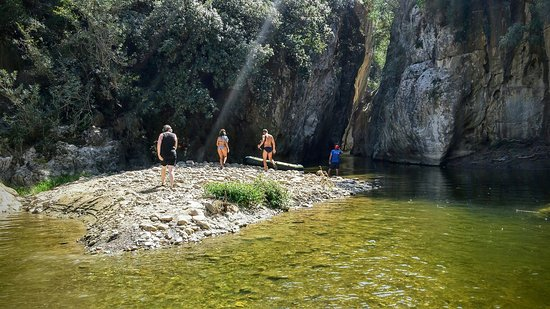 San Mauro Castelverde, Italie : Impressions of an amazing trip through the canyon.