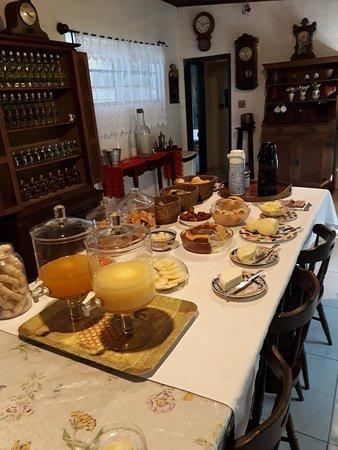 Piranga, MG: Mesa de Café da Manhã