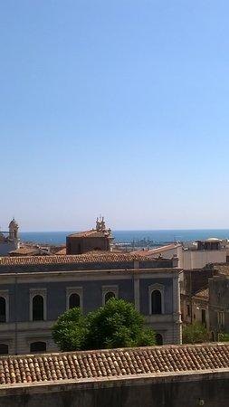 Monastero dei Benedettini: la vista dalla sala del rettore.j