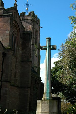 Prestwich, UK: St Mary's church