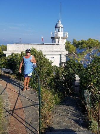 Al Faro di Portofino Lounge Bar: Above at the lighthouse