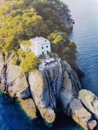 Al Faro di Portofino Lounge Bar: Aerial view