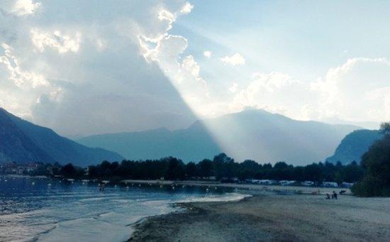Feriolo, Italy: Abendstimmung im September