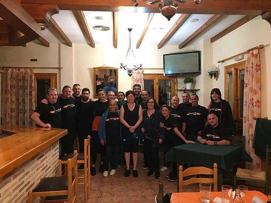 Moratalla, Spanyol: Somos un grupo motero que celebro hay una reunion motera y nos hospedamos hay tres dias