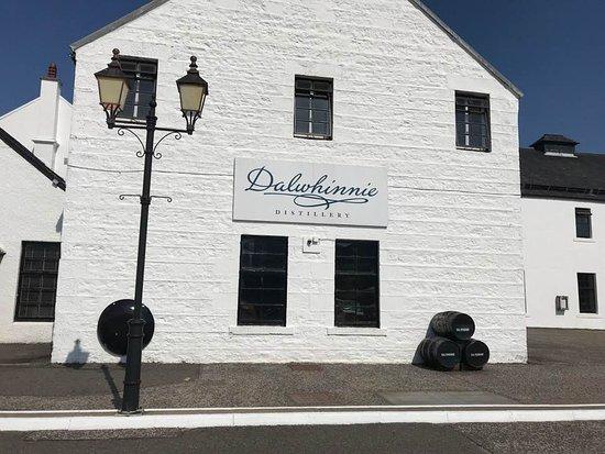 Dalwhinnie, UK: Entrance