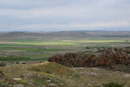 Meshgin Shahr, Иран: The plain allowing agriculture and breeding to the ancient site settlers