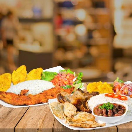Ambuqui, Ecuador: Muchos de los platos a tu elección. Menestras y Corvina