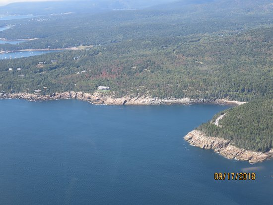 Acadia Air Tours: Dick Wolf, Law & Order producers house