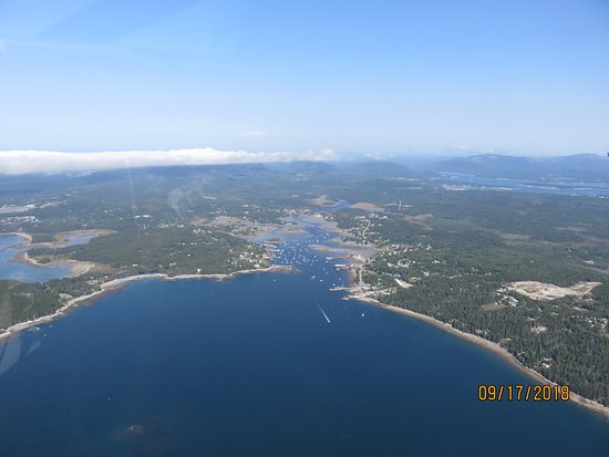 Acadia Air Tours: Coastline