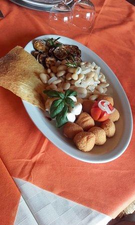 Bonarcado, Italien: Pasto vegetariano