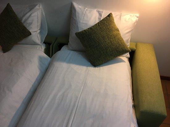 Hapimag Resort Mas Nou: Раскладные кресла вместо кровати